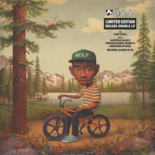Tyler, The Creator – Wolf    (2 × Vinyl, LP, Album, Limited Edition, Repress, Pink Translucent)