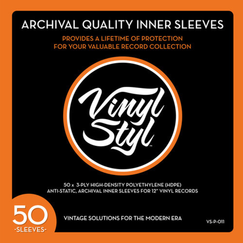 Accessories - Vinyl Styl™ Archive Quality Inner Record Sleeves (Pack 50)