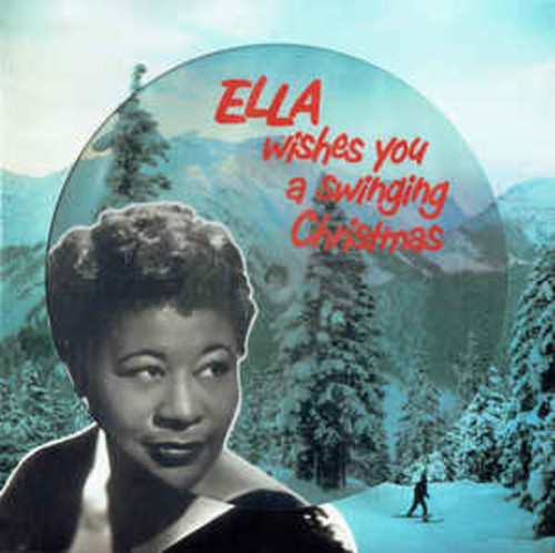 Ella Fitzgerald ‎– Ella Wishes You A Swinging Christmas (VINYL LP)