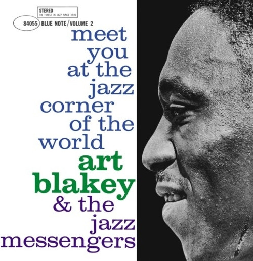 Art Blakey & The Jazz Messengers ‎– Meet You At The Jazz Corner Of The World (Volume 2) (LP)
