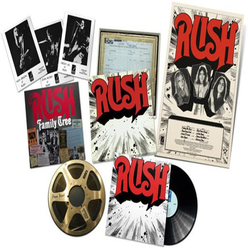Rush - Rediscovered box set (VINYL LP)