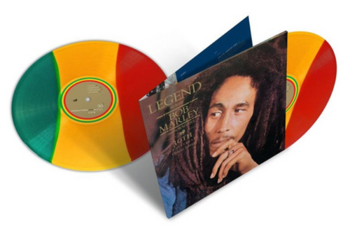 Bob Marley And The Wailers ‎– Legend (The Best Of Bob Marley And The Wailers)    (2 × Vinyl, LP, Album, Compilation, Limited Edition,  30th Anniversary, tri colour vinyl)