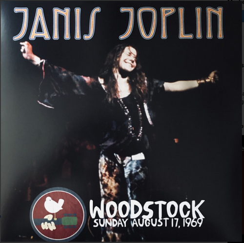 Janis Joplin ‎– Woodstock Sunday August 17, 1969
