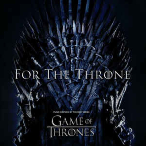 Various ‎– For The Throne (Music Inspired By The HBO Series Game Of Thrones) (VINYL LP)