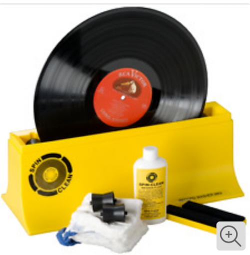 Pro-Ject Spin-Clean MKII Vinyl Record Washer System Groove Cleaning Kit