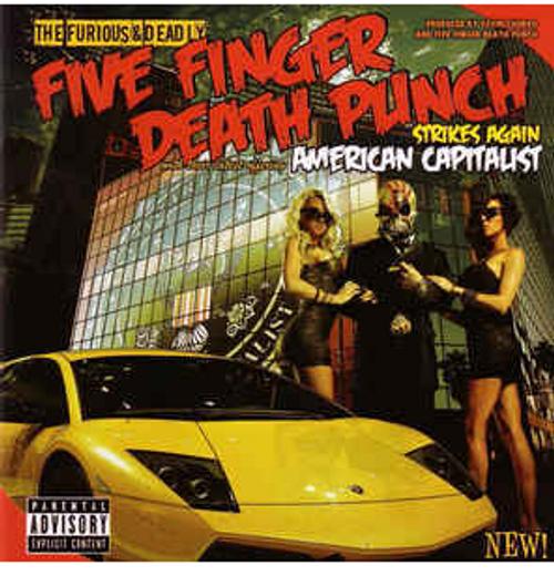 Five Finger Death Punch – American Capitalist   (VINYL LP)