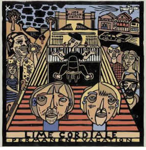 Lime Cordiale ‎– Permanent Vacation   (Vinyl, LP, Album )