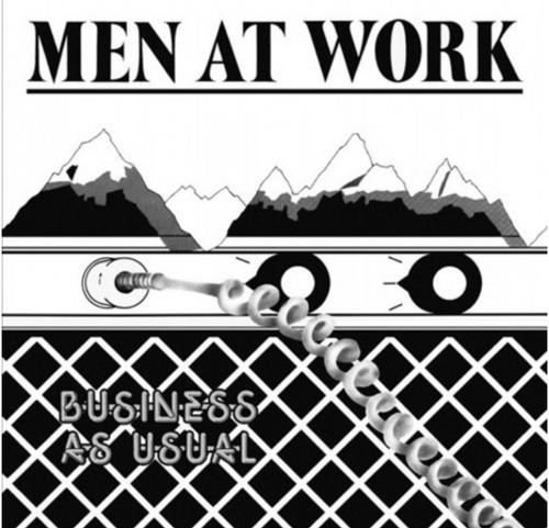 Men At Work – Business As Usual   (VINYL LP)