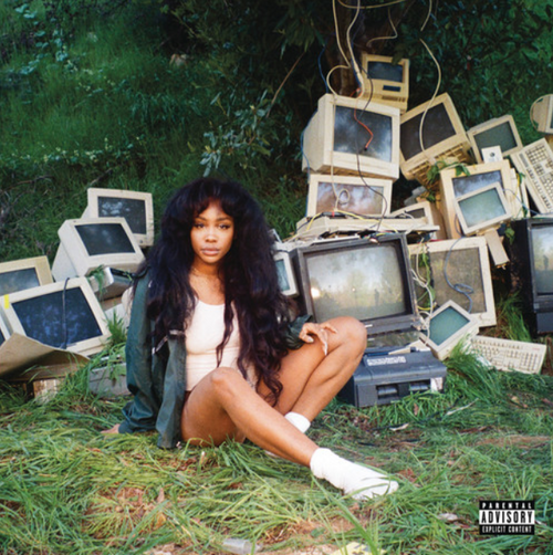 SZA  ‎– Ctrl    (2 × Vinyl, LP, Album, Green Translucent)