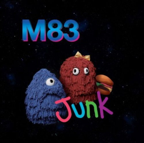 M83 ‎– Junk    (2 x Vinyl, LP, Single Sided, Etched)