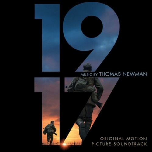 Thomas Newman – 1917 (Original Motion Picture Soundtrack)      (2 × Vinyl, LP, Limited Edition, Numbered, Flaming, 180g)