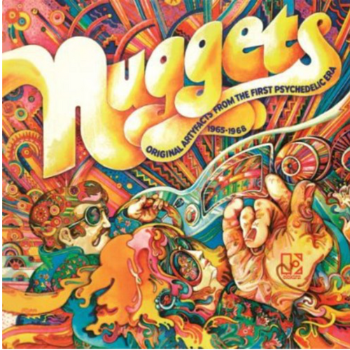 Various ‎– Nuggets: Original Artyfacts From The First Psychedelic Era 1965-1968     (2 × Vinyl, LP, Compilation, Reissue, 180g)