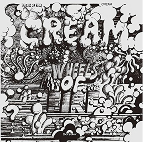 Cream ‎– Wheels Of Fire    (2 × Vinyl, LP, Album, Reissue, 180 Gram )