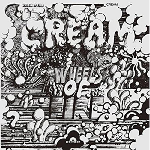 Cream – Wheels Of Fire    (2 × Vinyl, LP, Album, Reissue, 180 Gram )