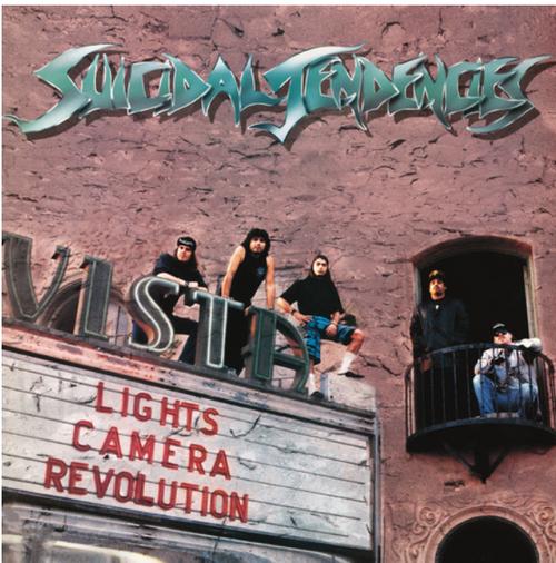 Suicidal Tendencies – Lights... Camera... Revolution    (Vinyl, LP, Album, Reissue, Green Transparent)