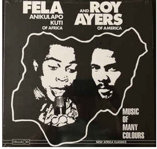 Fela Anikulapo Kuti , And, Roy  Ayers  ‎– Music Of Many Colours.,   (Vinyl, LP, Album, Reissue)