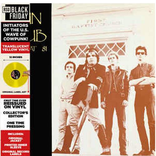 The Gun Club, – Sex Beat 81,.   (Vinyl, LP, Limited Edition, Reissue, Yellow Translucent)