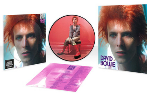 David Bowie, ‎– Space Oddity,.   (Vinyl, LP, Limited Edition, Picture Disc, Reissue, Remastered, Stereo)