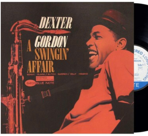 Dexter Gordon, ‎– A Swingin' Affair,.   (Vinyl, LP, Album, Reissue, Stereo, 180g)