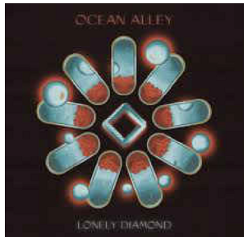 Ocean Alley, ‎– Lonely Diamond,.   (2 × Vinyl, LP, Album, Limited Edition, Transparent Blue Vinyl)