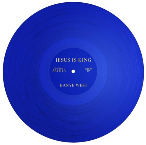 Kanye West ,‎– Jesus Is King,.   (Vinyl, LP, Album, Blue Translucent)