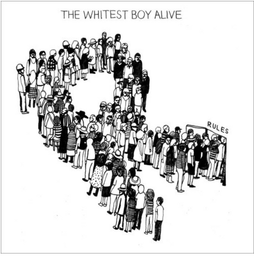The Whitest Boy Alive ‎– Rules,  Vinyl, LP, Album