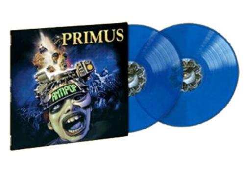 Primus – Antipop.   (2 × Vinyl, LP, Album, Limited Edition, Reissue, Stereo, Translucent Blue)