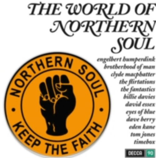 Various ‎– The World Of Northern Soul.   (Vinyl, LP, Compilation)