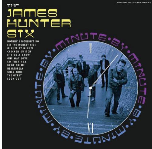 The James Hunter Six – Minute By Minute.   (Vinyl, LP, Album, Mono)
