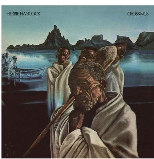 Herbie Hancock ‎– Crossings.   (Vinyl, LP, Album, Reissue, Gatefold)