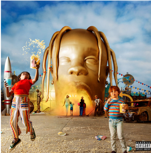 Travis Scott  ‎– Astroworld.   (2 × Vinyl, LP, Album)