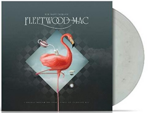 Various ‎– The Many Faces Of Fleetwood Mac.   (2 × Vinyl, LP, Compilation, Limited Edition, Grey Marbled)