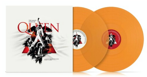 Various ‎– The Many Faces Of Queen.   (2 × Vinyl, LP, Compilation, Limited Edition, Reissue, Transparent Orange)