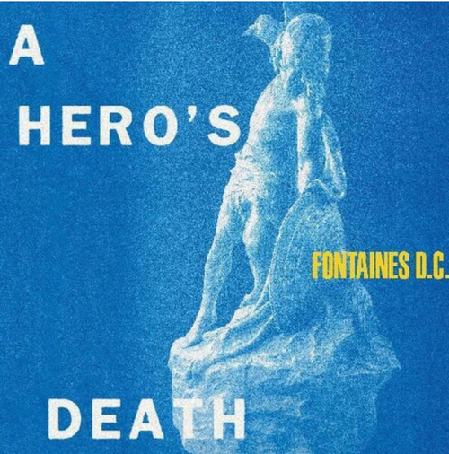 Fontaines D.C. ‎– A Hero's Death.   (Vinyl, LP, Album, Limited Edition, Stormy Blue)