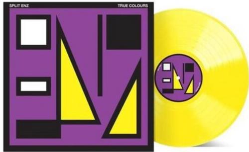 Split Enz – True Colours.   (Vinyl, LP, 40th Anniversary Remix Edition, Yellow Vinyl in Purple/Yellow Sleeve)