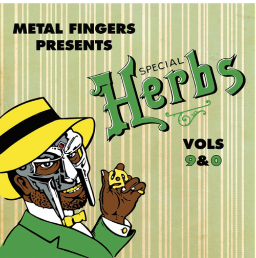 Metal Fingers ‎– Special Herbs Volume 9 & 0.    ( 2 × Vinyl, LP, Compilation, Reissue, Special Edition)
