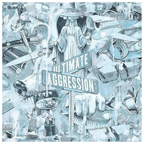 Year Of The Knife – Ultimate Aggression.     (Vinyl, LP, Album, White)