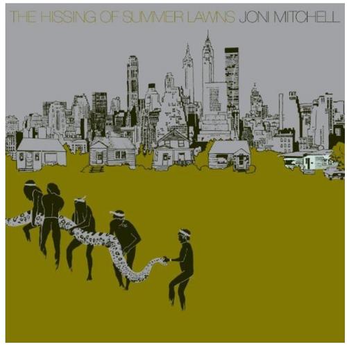Joni Mitchell – The Hissing Of Summer Lawns.    (Vinyl, LP, Album, Reissue, Remastered, 180g Gatefold)