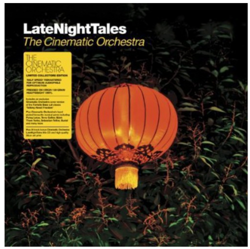 The Cinematic Orchestra – LateNightTales.     (2 × Vinyl, LP, Album, Compilation, Limited Edition)