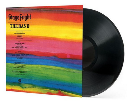 The Band – Stage Fright.    (Vinyl, LP, Album, Reissue, 180g)