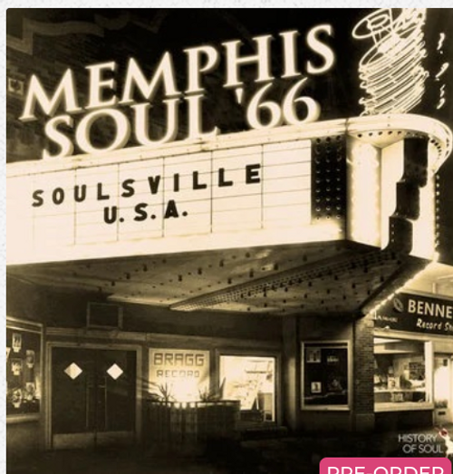 RSD2020.    Various Artists - Memphis Soul '66      (LP, Vinyl, Album, indie exclusive)  AVAILABLE IN STORE ONLY 29-8-20