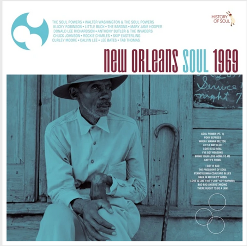 RSD2020.  Various - Artists New Orleans Soul '69    (LP, Vinyl, Album, limited to 500, indie exclusive)