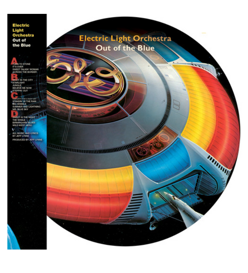 Electric Light Orchestra ‎– Out Of The Blue.   (2 × Vinyl, LP, Album, Limited Edition, Picture Disc, Reissue)