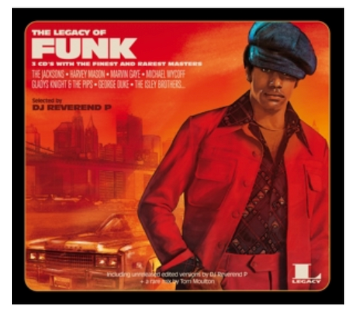 """Various – The Legacy Of Funk.   (2 × Vinyl, 12"""", Compilation, Red)"""