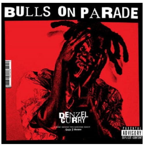 RSD2020.  Denzel Curry - Bulls On Parade.   (7'' double A-sided, limited to 2500, indie exclusive).  AVAILABLE IN STORE ONLY 29-8-20