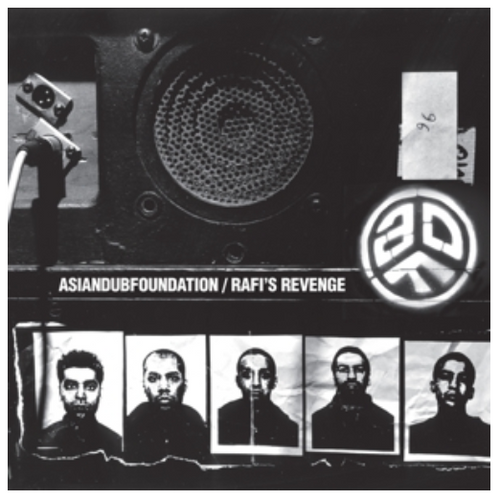 Asian Dub Foundation ‎– Rafi's Revenge.     (2 × Vinyl, LP, Album, Limited Edition, Reissue, White)