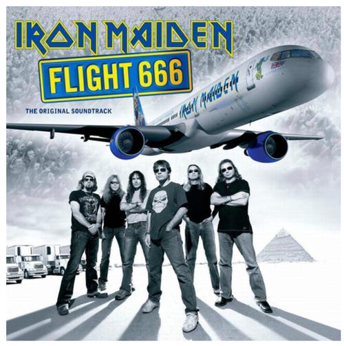 Iron Maiden – Flight 666 - The Original Soundtrack.   (2 × Vinyl, LP, Album, Reissue, Remastered, 180 gram)