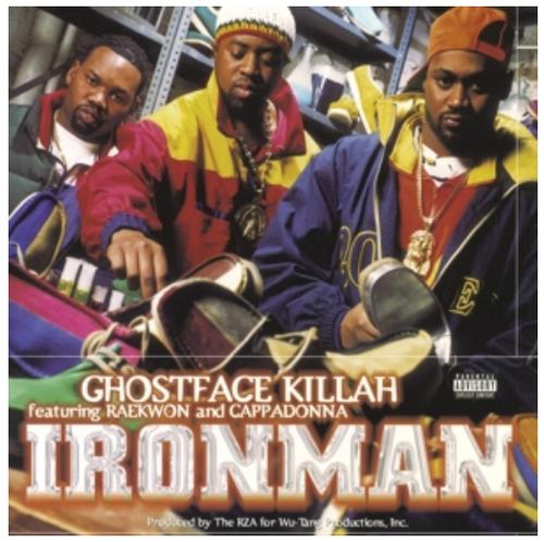 Ghostface Killah – Ironman.   (2 × Vinyl, LP, Album, Reissue, 180 Gram, Gatefold)