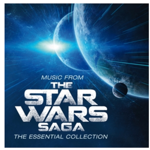 "Music From The Star Wars Saga: The Essential Collection - Robert Ziegler.    (2 × Vinyl, LP, Limited Edition, Numbered, ""Stormtrooper"" White & Black)"