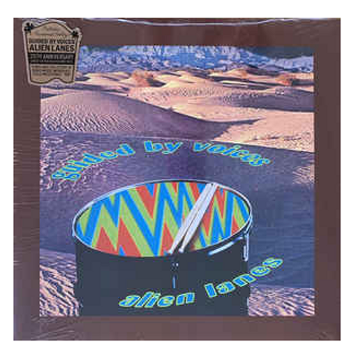 Guided By Voices ‎– Alien Lanes.    (Vinyl, LP, Album, Reissue, Red, Blue, Green, and Purple Swirl; Gatefold)